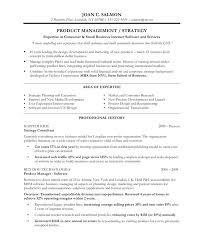 Product Manager Resume Samples Administrativelawjudge Info