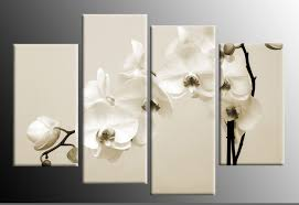 on sepia canvas wall art with beige cream white sepia orchids canvas wall print large 40 inch 101cm