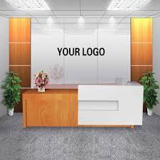 office front desk design. Customized Office Furniture Front Desk Design For Company P