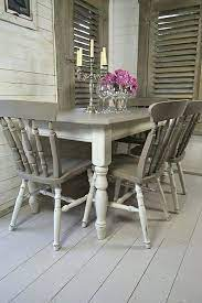 chalk paint dining room table wild