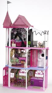 My Barbie Dream House for Mattel. Hand painted wall paper, original art and  furniture