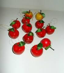 Christbaumschmuck Rote äpfel Eur 1200 Picclick De