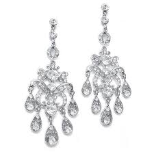crystal chandelier earrings promsugar com