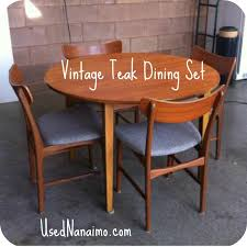 used teak furniture. Vintage Round Garden Table Used Teak Furniture