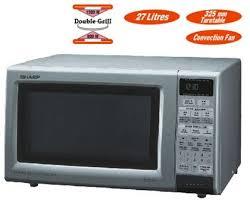 sharp convection microwave. sharp r-888 220 volt double grill convection microwave oven (discontinued) c