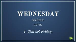 Funny Wednesday Quotes