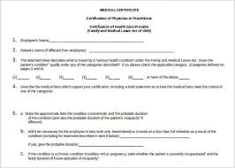 30 Medical Certificate Template Free Word Pdf Documents