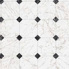 black and white marble paver 12 ft wide x your choice length residential vinyl sheet