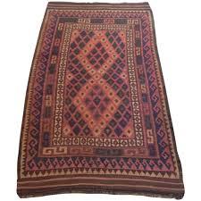 dusty rose turkish kilim rug 5394 x 23911 chairish dusty pink rug uk