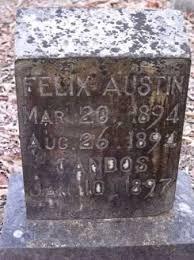 AUSTIN, FELIX - Sevier County, Arkansas | FELIX AUSTIN - Arkansas  Gravestone Photos
