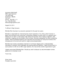 13 Sample Recommendation Letter Templates From Employer Free Word