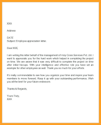 sample of appreciation letter employee recognition write up examples sample letters of
