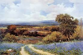 texas spring painting robert wood texas spring art painting