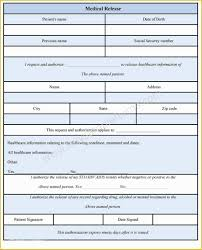 Free Medical Discharge Forms Templates Of Medical Release