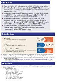 Sofosbuvir Based Regimens For Patients With Hepatitis C