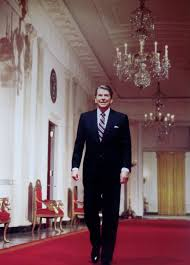 ronald reagan oval office. the 40th president ronald reagan oval office