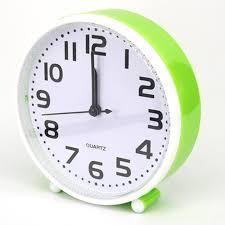 creative students small desk clock cartoon clock of bedroom the head of a bed