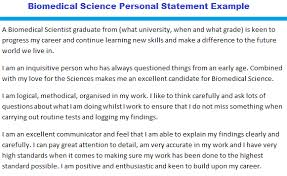Cv Personal Statement Sample How To Write A Personal Statement Cv Examples