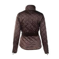 Horze Crescendo Women's Amelia Quilted Jacket in Dark Brown ... &  Adamdwight.com