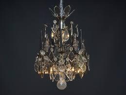 Exklusiver Antiker Französischer Kristall Kronleuchter Mit