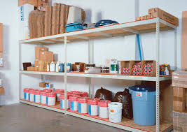 universal shelf framing system engineered to provide safe economical storage of virtually any type of hand loaded material