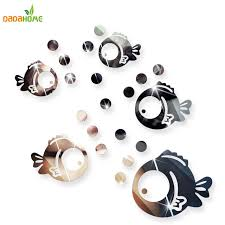 bubble fish bathroom acrylic mirrored decorative sticker wall art mirror decorative wall sticker bedroom secor room on bubble mirror wall art with bubble fish bathroom acrylic mirrored decorative sticker wall art