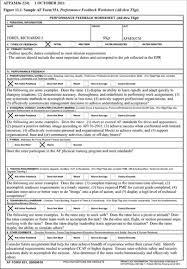 af form 910 form 931 performance feedback worksheet