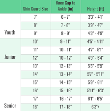 Shin Pad Size Chart How To Size Hockey Shin Guards