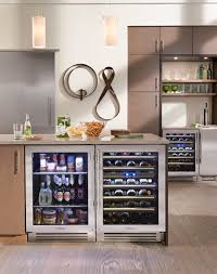 Under Counter Beverage Centers Lake Tahoe Kitchen With True Residential 24 Beverage Center Dual