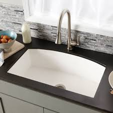 ... Quartet Concealed Rounded Concrete Sink in Pearl