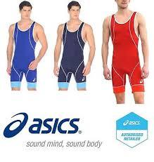 Asics Mens Wrestling Suit Singlet Ringertrikot Costume