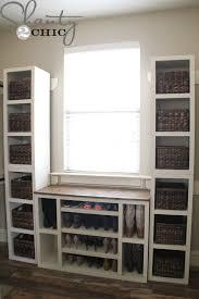 diy modular closet storage