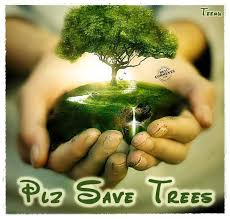 please save trees