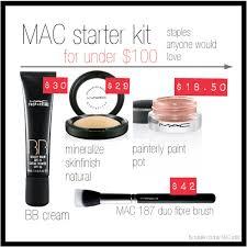 mac makeup mac makeup starter kit great starter kit for anybody new to mac