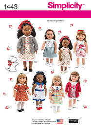 Simplicity Doll Clothes Patterns