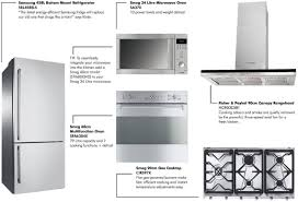 Energy Efficient Kitchen Appliances Real Kitchen Appliances The Good Guys Kitchens