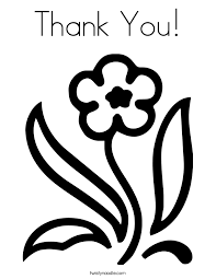 Small Picture Thank You Coloring Page Twisty Noodle