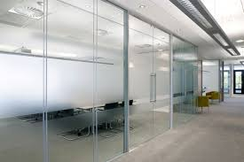 Acoustic Frameless Glass Wall Partition System Gallery 10