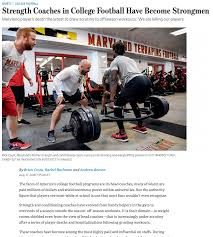 strength coaches in college football