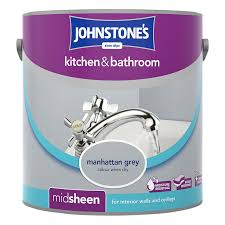 bathroom paint grey. 276810-Johnstones-Kitchen-and-Bathroom-Paint-Manhattan-Grey- Bathroom Paint Grey R