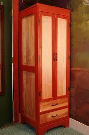 tall narrow wardrobe for tiny house