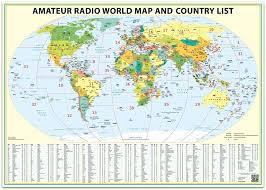 Amateur radio location map