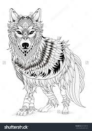 Absolutely Design Wolf Coloring Pages For Adults Modern Decoration