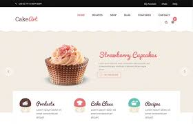 Bakery Cake Wordpress Theme Cssreel Css Website Awards