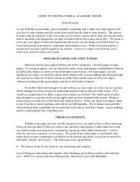 academic paper format format guide for formal papers i appearance 1 staple the pages