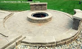 diy patio fire pit with pavers 2017 2018 best cars reviews