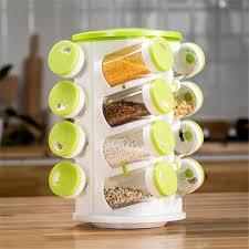 1 Set Glass Spice Jar Seasoning Box Salt Sugar Pepper Shaker
