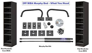 ikea murphy bed murphy bed frame kit for queen bed frames