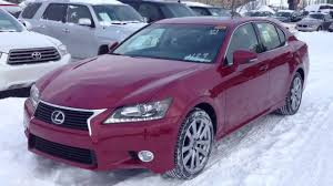 lexus 2014 is 350 red. 2014 lexus gs 350 awd in crimson red navigation package review youtube is