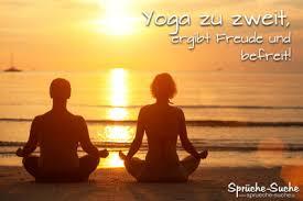 Yoga Zu Zweit Ergibt Freude Und Befreit Die Besten Sprüche